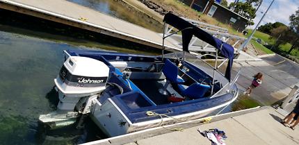 Savage Boat 4.5m