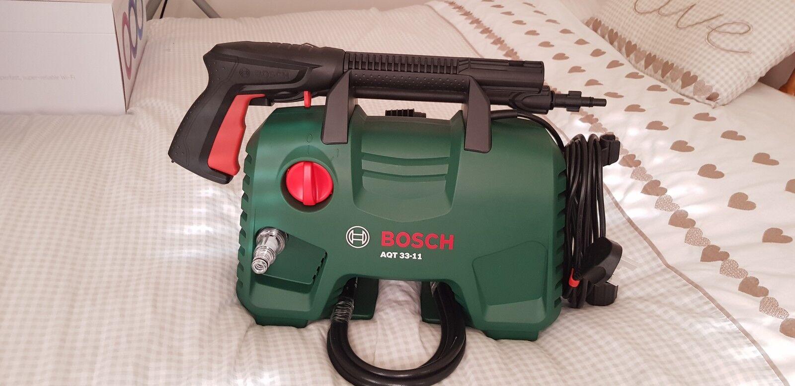 Reviews Bosch Aqt 33 11 110 Bar 1300 Watt 240 Volt Pressure Washer High Aquatak Aqt33 Ebay