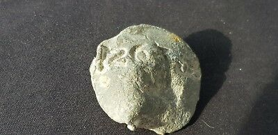Superb rare large heavy Post Medieval lead seal. Please read description L450