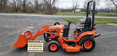 2019 Kubota Bx2380 Compact Loader Tractor Wmower Only 30 Hours Warranty