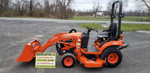2019 Kubota BX2380 Compact Loader Tractor W/Mower Only 30 Hours!! Warranty!!