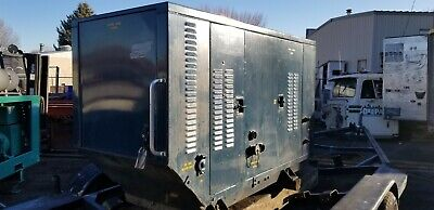 U.s. Air Force Surplus 25 Kw Generator 120240480 Single And 3 Phase 195 Hrs.