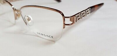 VERSACE MOD 1220-b 52mm Eyewear FRAMES Optical Glasses womens RRP £290