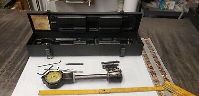 Sunnen Dial Bore Gage With 2 4 5 6 Points Tools In Metal Case.  Lot2
