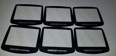 6 NEW LOT Replacement Screens Lens For Game Boy Advance GBA Plastic Protective
