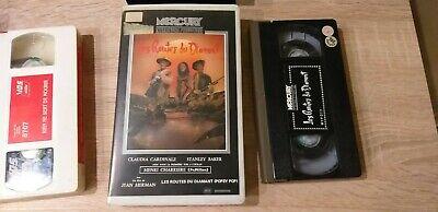 K7 Cassette Vidéo Vintage VHS - LES ROUTES DU DIAMANT Claudia Cardinale