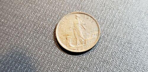 1911 ITALY 1 CENTESIMI - Key Date