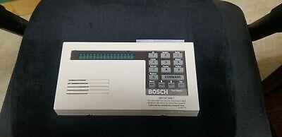 Bosch D1255 Alarm Keypad - White Used Functioning Security Keypad