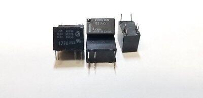 5 Piece Omron G5v-1-5vdc Mini Relay Spdt 6-pin Re2