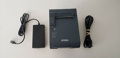 Epson Tm-l90 Point Of Sale Serial Interface Thermal Printerm313a Wpower Supply
