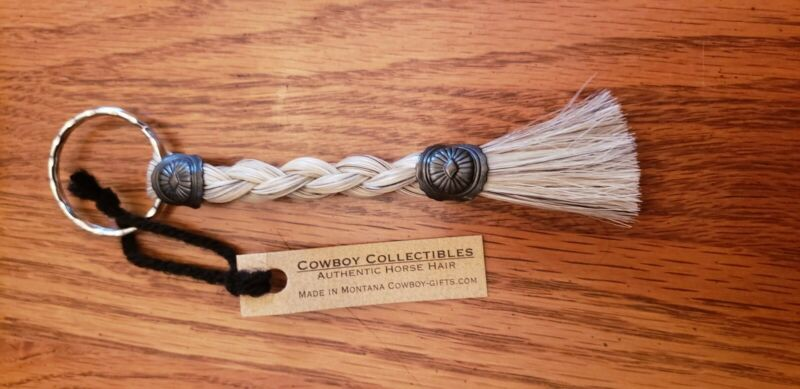 Cowboy Collectibles Horse Hair Keychain