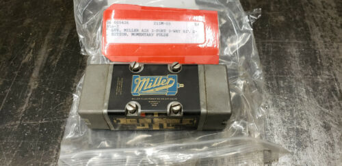 used Miller Fluid 310 3-Port, 3-Way, 2-Position Air Valve.