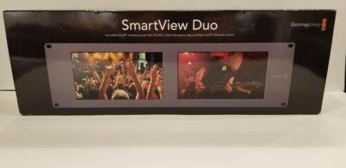 "Blackmagic Design SmartView Duo Dual 8"" LCD Monitors - New Open Box"