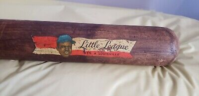 Vintage Jackie Robinson Louisville Slugger JL Hillerich & Bradsby  Baseball Bat  for sale  Shipping to Canada