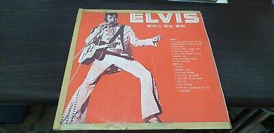 Elvis Presley orange korea vinyl very rare for collector