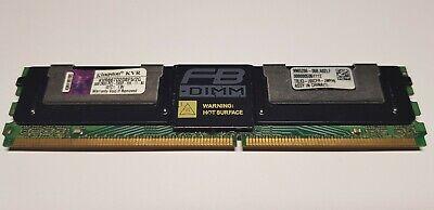 2GB Kingston PC2-5300F DDR2-667MHz ECC Fully Buffered KVR667D2D8F5/2G