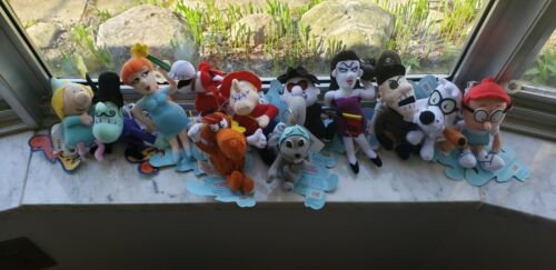 Vintage 1999 The Adventures of Rocky & Bullwinkle & Friends NWT 12 LE Keychains