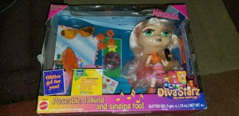 Diva Starz Miranda Doll Collectible Series Mattel 2001