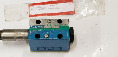 Vickers 02-139661 DG4V-3S-33B-M-U-B5-60 Control Valve.  shelf 35 basement
