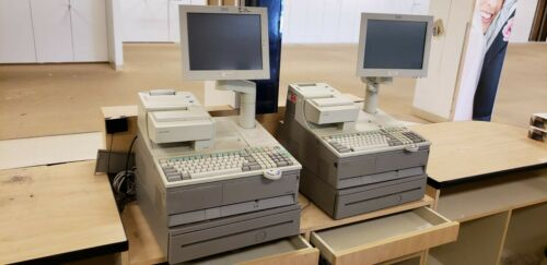 Sears Cash Registers IBM SurePOS 700 w/Receipt Printer (Lot of 4)