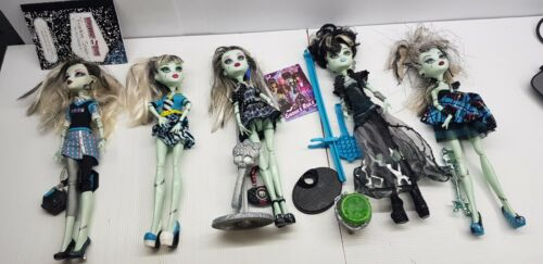 Frankie Monster High doll Ghouls schools out picture sweet first wave choose 1