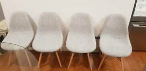Replica Eames Retro Dining Chairs - GREY X4