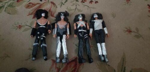 KISS 1976 1977 Mego dolls  set of 4