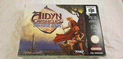 * Nintendo 64 * Aidyn Chronicles The First Mage* N64 * PAL * RARE *