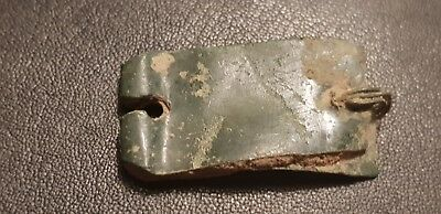 Very rare Roman bronze buckle plate. Please Read Description. L121t
