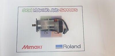 Genuine Roland Soljet Pro Iii Xc-540 Printer Assy Feed Motor 6700319020