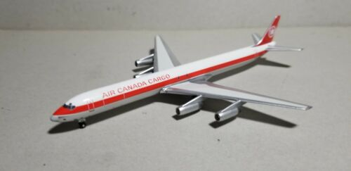 AEROCLASSIC AIR CANADA CARGO (OC) DC8-63 1:400 SCALE DIECAST METAL MODEL