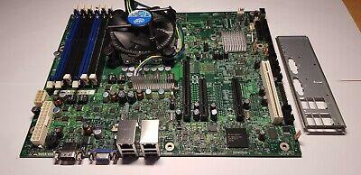 Carte mère Intel S3420GP + Intel xeon Quad-Core X3430 + Fan Motherboard