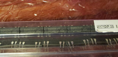 Qty 5-Magnecraft-W171DIP-25- Mini Reed PCB Relay/DPST NO W/DIODE , 0.5 A, 5V