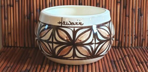 Pohaku Kilns Made in Hawaii Tapa Print Ceramic Bowl