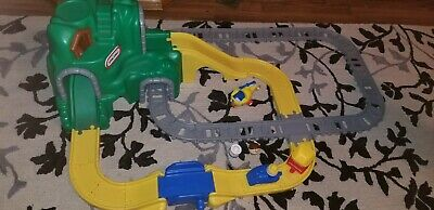 Little Tikes Peak Road & Rail Roadway Train Track Green Mountain Vintage Toy Little Tikes Train