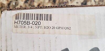 Hedland H705b-020 Inline Flow Meter