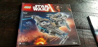 LEGO Star Wars 75147 Starscavenger Instruction Manual Only
