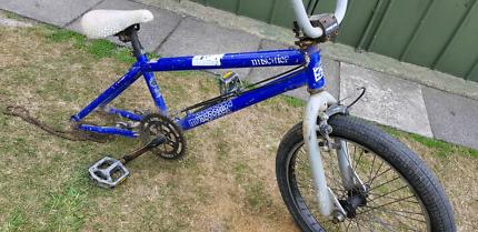 Mongoose mischief bmx bike 20inch bicycle haro rim good parts