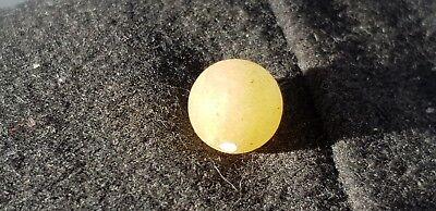 Viking amber egg yolk type bead Beautiful Ancient artifact & very wearable L486