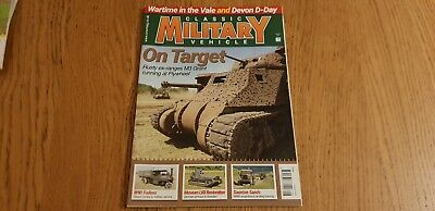 CLASSIC MILITARY VEHICLE - AUGUST 2018 - ISSUE 207 - M3 GRANT WWI FOLDENS