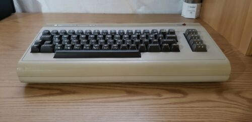 Refurbished Commodore 64 computer in excellent condition - cleaned and tested