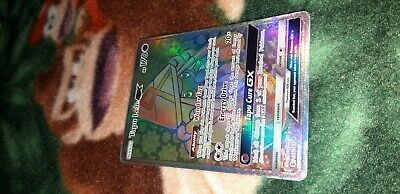 1X NM Foil Tapu Lele GX Full Art Secret Rare Guardians Rising Pokemon 155/145