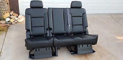 Denali 2nd Row Bench Seats - 2007-2019 Tahoe, Escalade, & Yukon Denali second 2nd row bench seat leather
