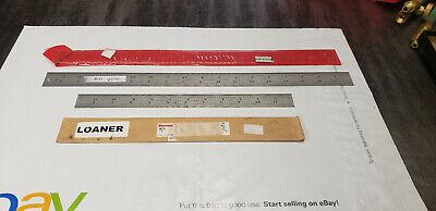 2-pc Starrett C604r C304sre 18 12 Flexible Steel Machinist Rule
