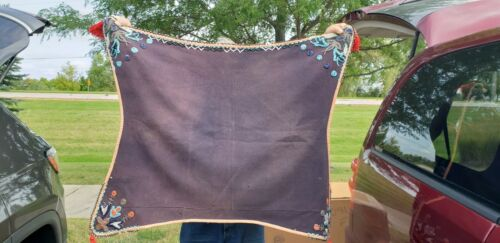 Authentic Ute Indian Beaded Horse Blanket