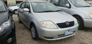 2003 Toyota Corolla Ascent Lilydale Yarra Ranges Preview