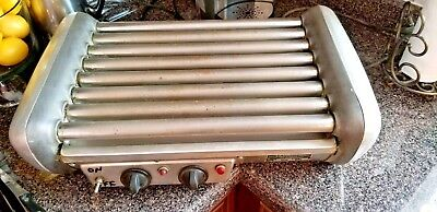 Jj Connolly Hot Dog Sausage Roller Grill Table Top For Concession Vending Used