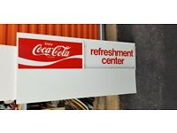 COCA COLA COMBO MEALS LARGE MENU BOARD WITH INSERT KIT DINER RESTAURANT 24x 28