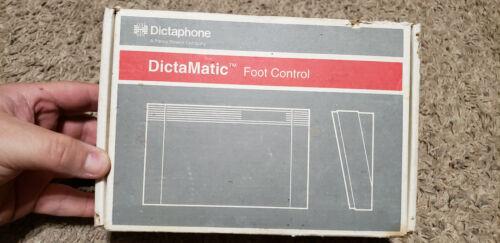 Dictaphone Dictamatic 177557 foot pedal, NEW!