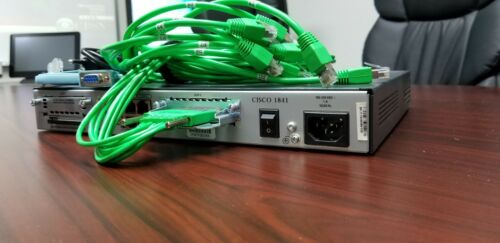 Cisco Access Terminal Server 1841  16x Async Serial ports CCNA CCNP LAB ADD ON